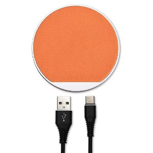 4Smarts Select Wireless Qi Charger 10W - Oransje / Brown