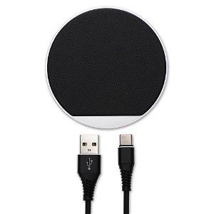 4Smarts Select Wireless Qi Charger 10W - Svart / Brown