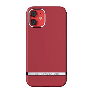 Richmond & Finch iPhone 12 Mini Deksel Samba Red
