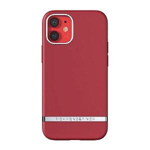 Richmond & Finch iPhone 12 / 12 Pro Deksel Samba Red