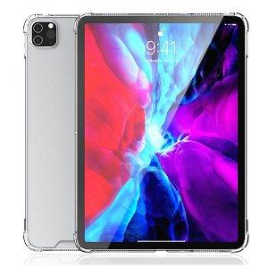 "iPad Pro 12.9"" (2020/2018) 4smarts Premium Clear Hybrid Deksel - Gjennomsiktig"