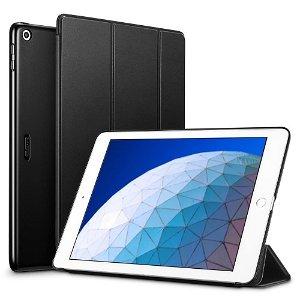"""iPad Air (2019) / iPad Pro 10.5"""" - ESR Tri-fold Yippee Series Slim Deksel - Black"""