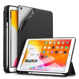 "iPad 10.2"" (2021 / 2020 / 2019) ESR Rebound Støtdemping Deksel w. Apple Pencil Holder - Black"