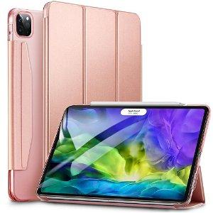 iPad Pro 11 (2020 / 2018) - ESR Tri-fold Yippee Series Slim Deksel - Rose Gold