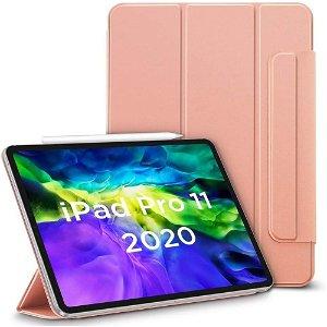 """iPad Pro 11"""" (2021 / 2020 / 2018) ESR Rebound Magnetisk Deksel - Rose Gold"""