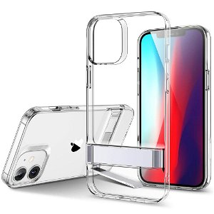 iPhone 12 Mini ESR Air Shield Boost Deksel med Stativfunksjon - Gjennomsiktig