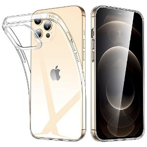 iPhone 12 / 12 Pro Deksel ESR Project Zero Slim Clear Deksel - Gjennomsiktig