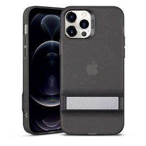 iPhone 12 Pro Max ESR Air Shield Boost Deksel med Stativfunksjon - Svart