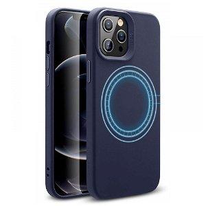 iPhone 12 / 12 Pro ESR MagSafe Kompatibel Cloud HaloLock Deksel - Midnight Blue