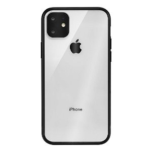 iPhone 11 Pro QDOS Hybrid Clear Mobildeksel - Transparent / Svart
