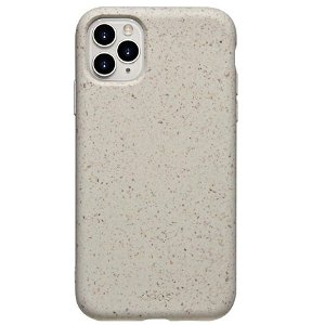 QDOS iPhone 11 Pro ECO Mobildeksel - Sand