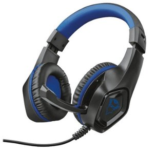 Trust Gaming GXT 404B Over -Ear Gaming Headset - Svart / Blå