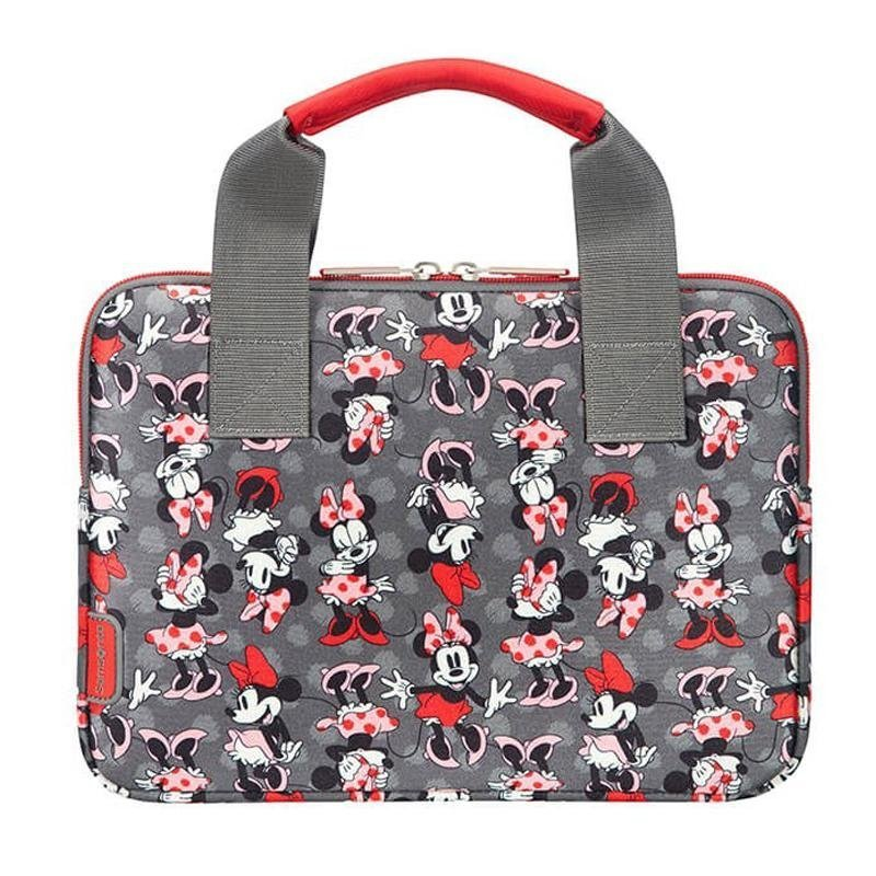 "Samsonite Airglow Disney Sleeve Med Minnie Mouse Tema 9.7-10.5"" - Grå / Pink"