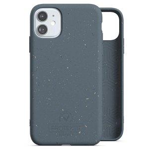 Protektit by Elements Bio Deksel 100% Nedbrytbart Deksel til iPhone 11 - Deep Sea Blue