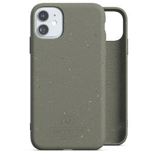 Protektit by Elements Bio Deksel 100% Nedbrytbart Deksel til iPhone 11 - Turtle Green