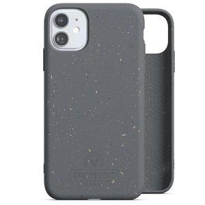 Protektit by Elements Bio Deksel 100% Nedbrytbart Deksel til iPhone 11 - Manta Ray Grey