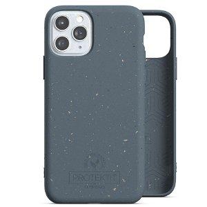 Protektit by Elements Bio Deksel 100% Nedbrytbart Deksel til iPhone 11 Pro - Deep Sea Blue