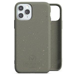 Protektit by Elements Bio Deksel 100% Nedbrytbart Deksel til iPhone 11 Pro - Turtle Green