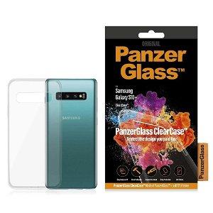 PanzerGlass ClearCase Samsung Galaxy S10+ (Plus) Deksel Gjennomsiktig