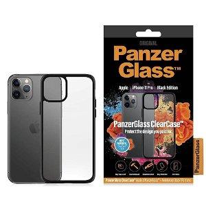 iPhone 11 Pro Deksel PanzerGlass ClearCase Svart Kant