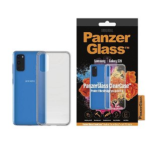PanzerGlass ClearCase Samsung Galaxy S20 Deksel m. Glassrygg - Gennemsigtig