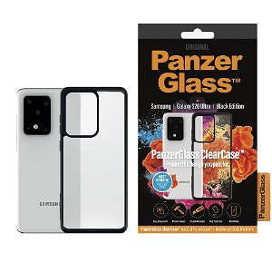 PanzerGlass ClearCase Samsung Galaxy S20 Ultra Deksel m. Glassrygg