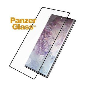 Samsung Galaxy Note10+ (Plus) PanzerGlass Curved Glass Skjermbeskytter - Fingerprint & Case Friendly - Svart