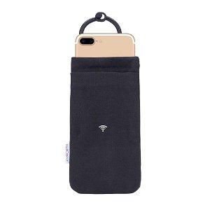 RadiCover Smartphone Etui Svart (Maks. Mobil: 150 x 89 x 8 mm)