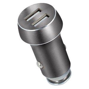 FOREVER Billader m. 2 x USB-A - 15W - Grå