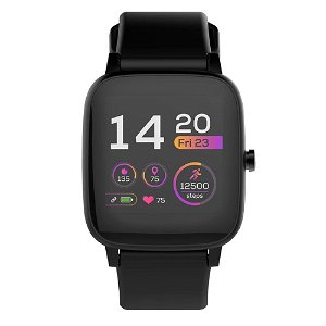 Forever IGO Pro JW-200 Smartwatch for Barn med Pulsmåler, Kropstemperatur & Skritteller - Svart