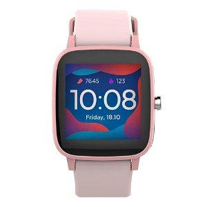 Forever IGO Pro JW-200 Smartwatch for Barn med Pulsmåler, Kropstemperatur & Skritteller - Rosa