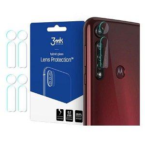 Motorola Moto G8 Plus 3MK Beskyttelsesglass til Kameraobjektiv - 4 Stk.