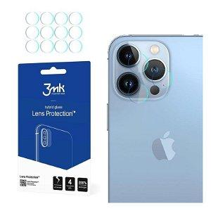 3MK iPhone 13 Pro Max Beskyttelsesglass for Kameralinse - 4 stk
