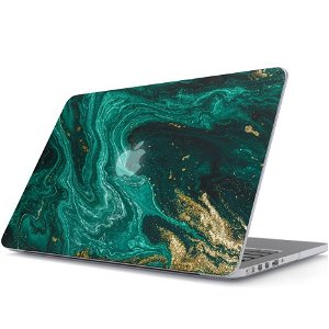 "Burga Macbook Pro 13"" Fashion Deksel - Emerald Pool"