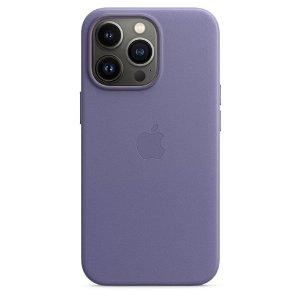 Original Apple iPhone 13 Pro Ekte Skinndeksel Magsafe Blåregn (MM1F3ZM/A)