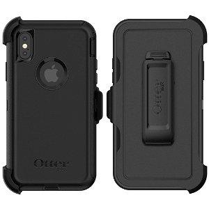 OTTERBOX Defender Series iPhone Xs / X Håndverker Deksel m. Belteholder Svart