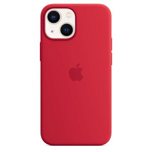 Original Apple iPhone 13 Mini Magsafe Silikondeksel PRODUCT(RED) (MM233ZM/A)