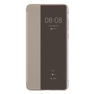 Original Huawei P40 Smart View Flip Deksel Khaki