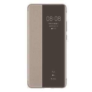 Original Huawei P40 Pro Smart View Flip Deksel Khaki