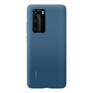Original Huawei P40 Pro Silikondeksel - Blå