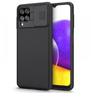 Samsung Galaxy A22 4G Nillkin Camshield Deksel - Svart