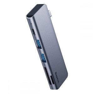 Baseus Multi USB-C 5in1 Adapter - Space Grey