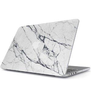 """Burga Macbook Pro 13"""" Fashion Deksel - Satin White"""