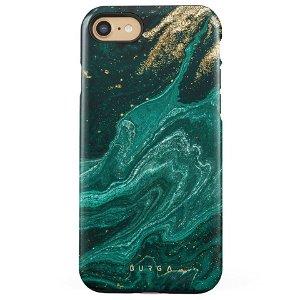 Burga iPhone SE (2020) / 8 / 7 Tough Fashion Deksel - Emerald Pool