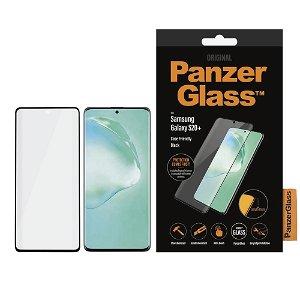 Samsung Galaxy S20+ (Plus) PanzerGlass Curved Glass Skjermbeskytter - Case Friendly - Svart
