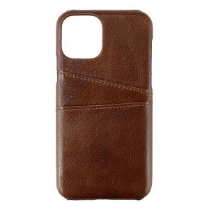 iPhone 11 Pro GEAR Onsala Collection Mobil Deksel m. Kortholder / Skinn - Brun