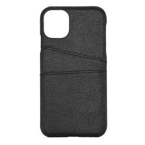 iPhone 11 GEAR Onsala Collection Mobil Deksel m. Kortholder / Skinn - Svart