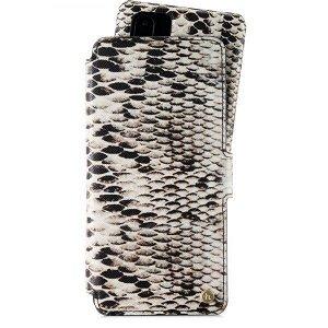 Huawei P30 Pro Holdit Wallet Case Magnet - Skinn Etui med Avtagbart Deksel - Stockholm Snake