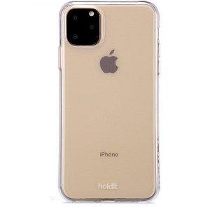 Holdit iPhone 11 Pro Max Soft Touch Deksel - Gjennomsiktigt