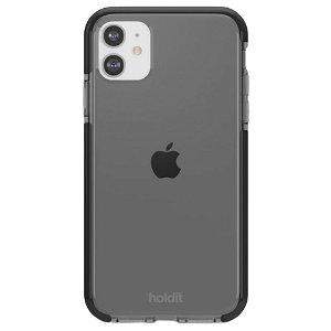 Holdit iPhone 11 Seethru Bakdeksel - Svart
